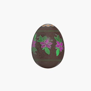 easter eggs holiday 3D model