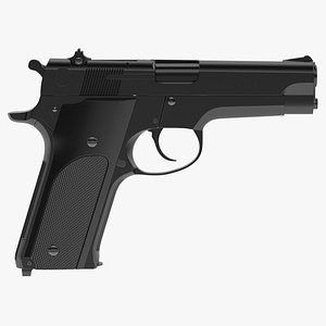 Smith Wesson Model 59 3D model