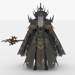 3D model Demon King Rigged