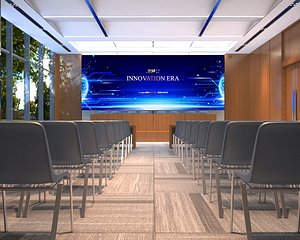 3D assembly hall Concert Hall conference meeting table