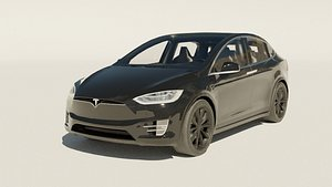 tesla modeled 3D model