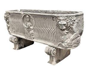 Rome Garden Sculpture 3D