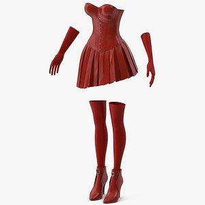 Women Clothes 3D model