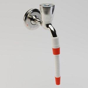 3D model tap water hose