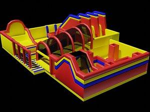 3D model Bouncy Castle