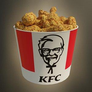 kentucky fried chicken 3D