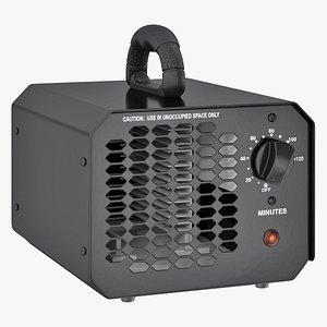3D air purifier deodorizer sterilizer