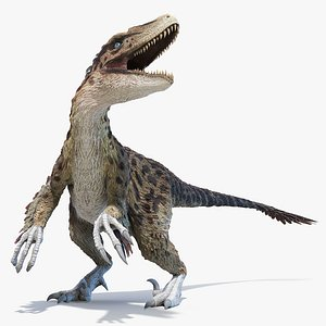 Utahraptor Animated 3D model
