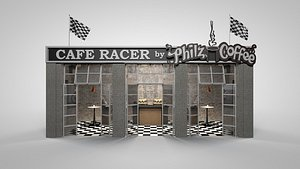 3D model racer speedway