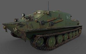 3D BTR-50