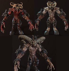 High Demon 3D model
