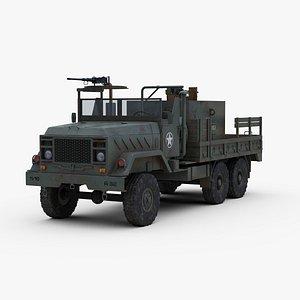 Armored Gun Truck 3D model
