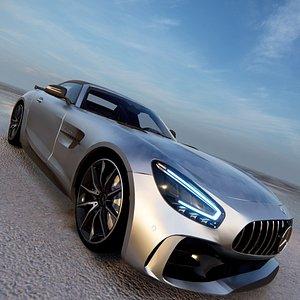 3D 2020 Mercedes-Benz AMG GT R model