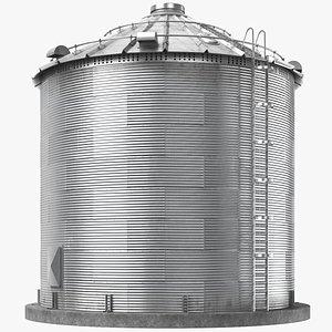 3D Grain Silo