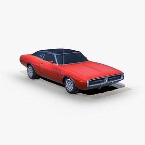 Dodge Charger 1972 3D model