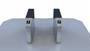 3D model Gate Intelligent Gate