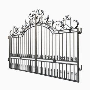 3D ornate decorative gate 4