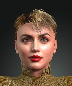 ana armas design ready 3D