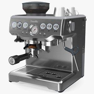 3D barista express espresso machine