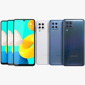 Samsung Galaxy M32 All Colors 3D model