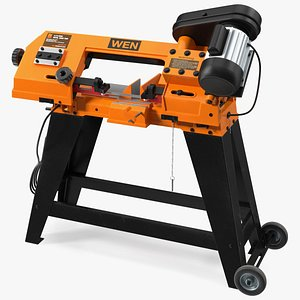 3D WEN 3970T Metal Cutting Band Saw with Stand model
