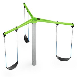 3D 3-Seater Carousel Kompan PCM153