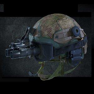 3D helmet binocular
