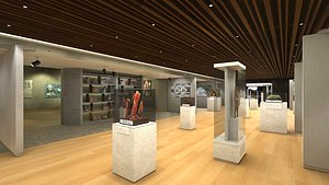 museum games 3D model