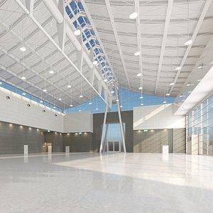 Exhibition Center 3D model