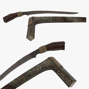 Sewar Dagger 3D model