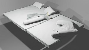 3D model Bed Collection