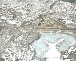 Cityscape Mumbai India 3D