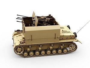 3D panzer iv prototype mobelwagen