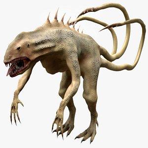 3D model Fantasy Monster