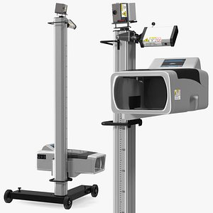 3D vehicle headlight beam tester model