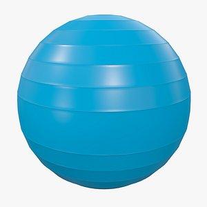 Pilates Ball v1 with Pbr 4K 8K model