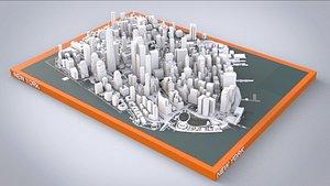 Cityscape New York USA 3D