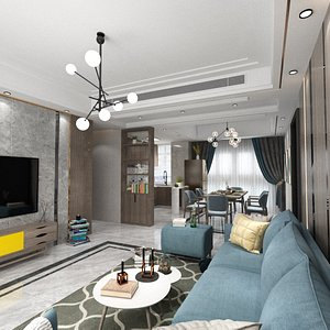 3D Detailed Home Interior