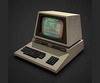Desktop computer retro