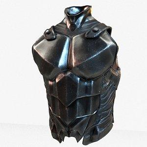 Warrior Upper Armor Model 3D model