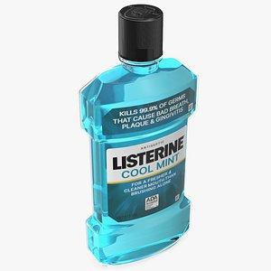Listerine Cool Mint Antiseptic Mouthwash 1L 3D
