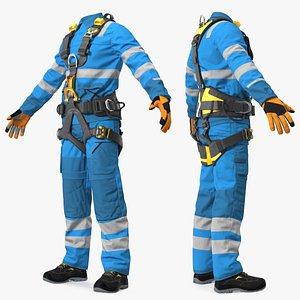 Alpinist Worker Suit model