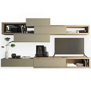 3D Contemporary TV Furniture - Day 10