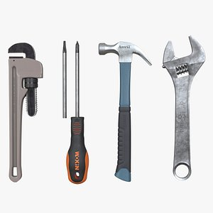 Tools Collection 3D model