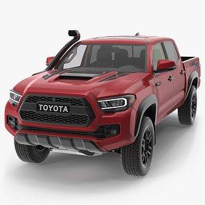Toyota Tacoma TRD Pro Barcelona Red Metallic 2021 3D model