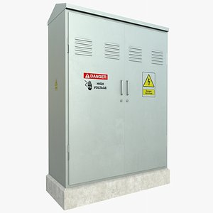 Electrical Box 1  With PBR 4K 8K model