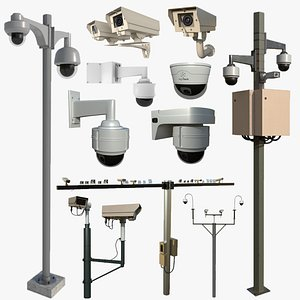 Security Camera Collection 3D