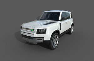 car - land rover 3D model