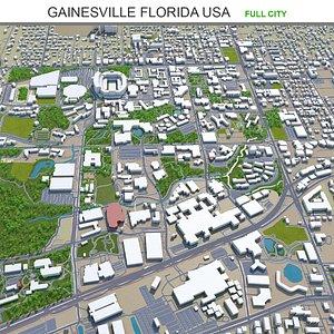 Gainesville Florida USA 3D model