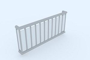 window railing 2 model